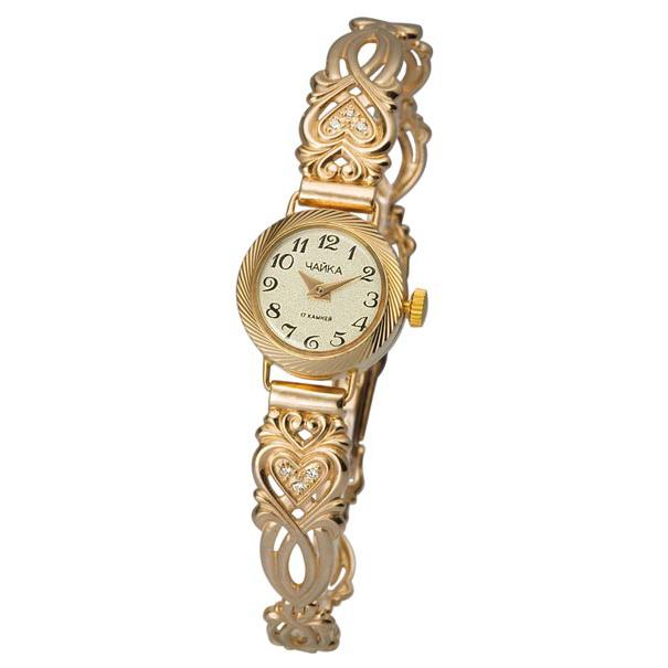 Часов золотым с золотых браслетом стоимость механическим продам часам к запчасти